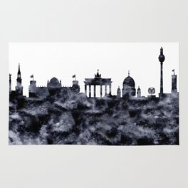 Berlin Skyline Germany Rug