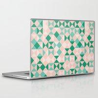 emerald Laptop & iPad Skins featuring Emerald  by Leandro Pita
