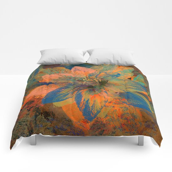 Floral abstract(43) Comforters