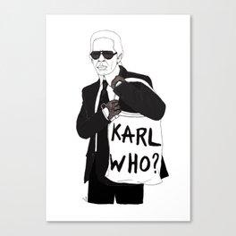 Karl Canvas Print
