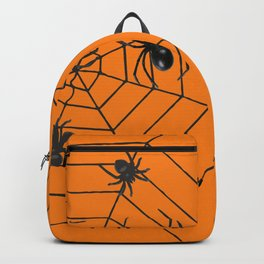big Spiders in two cobweb Backpack