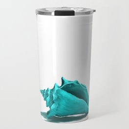 Aura the Seashell - illustration Travel Mug
