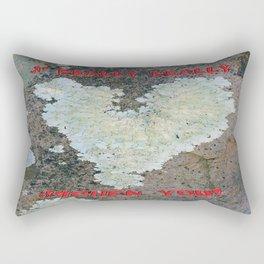I Really Really Lichen You Rectangular Pillow