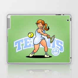 Tennis, Hit'm hard Laptop & iPad Skin