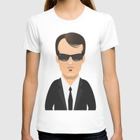 quentin tarantino T-shirts featuring Tarantino - Mr. Brown by Capitoni