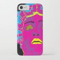 medusa iPhone & iPod Cases featuring Medusa by Mario Sayavedra