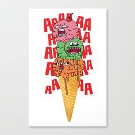 Ice Scream Canvas Print