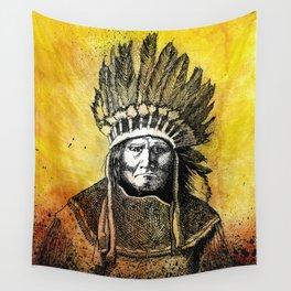 Geronimooo! Wall Tapestry