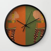 hercules Wall Clocks featuring Hercules by Young Jake