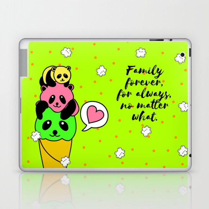 Family forever Laptop & iPad Skin