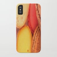 macaroons iPhone & iPod Cases featuring Macaroons by alexarayy