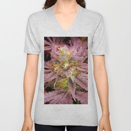 Passionately Purple Unisex V-Neck