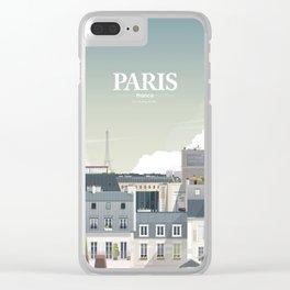 Alone In Paris - Paris s'éveille (Paris wake up) Clear iPhone Case