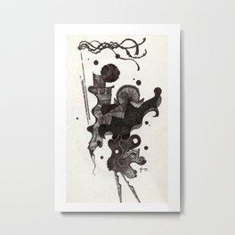 Dance of the Seven Veils, pt. 7 Metal Print