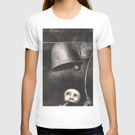 Odilon Redon Illustration for Edgar Allen Poe T-shirt