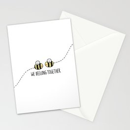 We Beelong Together Stationery Cards