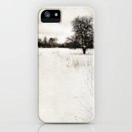 winter hike. iPhone Case