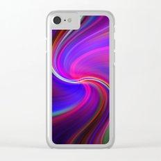 Colour Cocaine ~ TWIRLS Clear iPhone Case