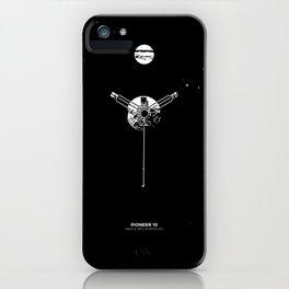 PIONEER 10 iPhone Case
