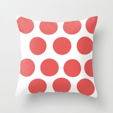 CirclePink Throw Pillow