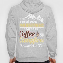 Gift Ideas For Coffee And Camping Lover. Hoody