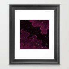 Garnet Universe Framed Art Print
