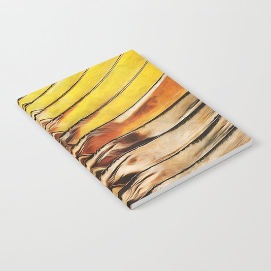 Palm Frond Leaf Macro Notebook