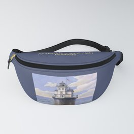 Fourteen Foot Bank Lighthouse, Delaware Fanny Pack