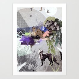 Eastern Hillside Art Print