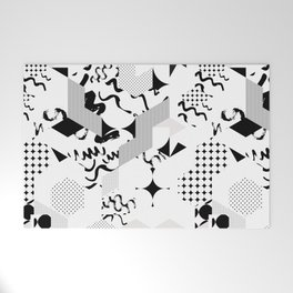 In between the lines and dots Welcome Mat