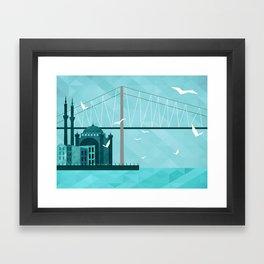 City of Domes Framed Art Print