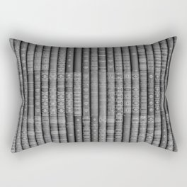Keep Reading B&W Rectangular Pillow