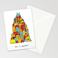 Monster Tower Stationery Cards
