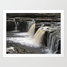 Upper Falls, Aysgarth Art Print