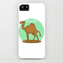 Wednesday Camel iPhone Case