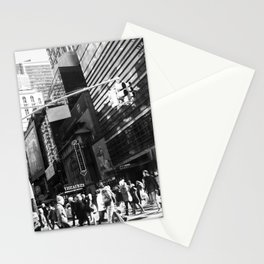 On the Street in NYC Stationery Cards
