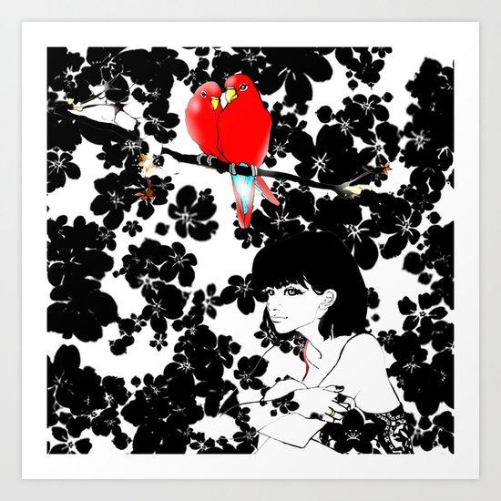Valentine Art Print