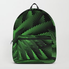 Green Fern Jungle Backpack