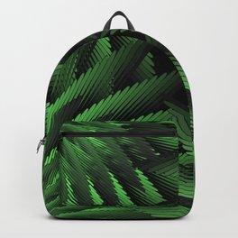 Green Fern Jungle Backpack