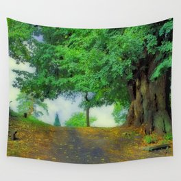 take a deep breath! Wall Tapestry