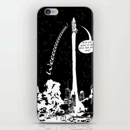 Space shuttle iPhone & iPod Skin