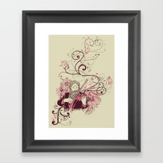 Violinist Framed Art Print