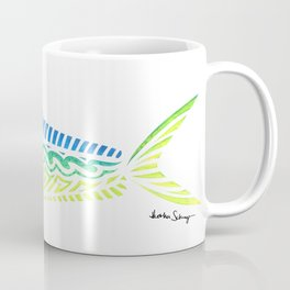 Tribal Mahi Mahi Coffee Mug