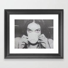 Tea Cup Framed Art Print