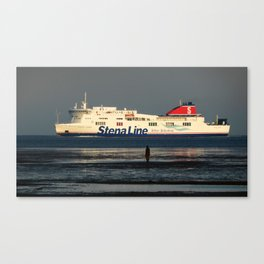 Stenna Line Canvas Print