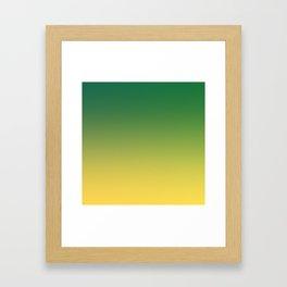 HIGH TIDE - Minimal Plain Soft Mood Color Blend Prints Framed Art Print