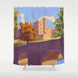 Haddon Hall, Derbyshire Shower Curtain
