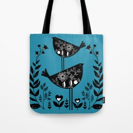 Danish Birds Bring Good Luck And A Good Life Tote Bag