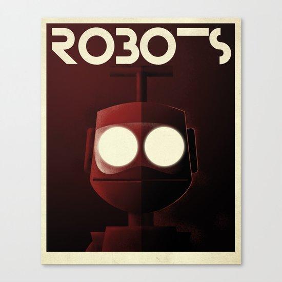 Robots - Nono Canvas Print