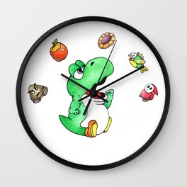 Feed the Fatty? (Yes) (No) Wall Clock